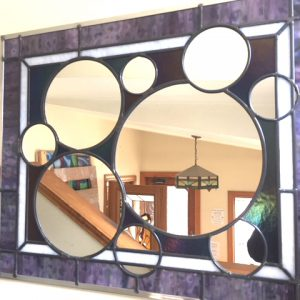 Abstract Wall Mirror $529
