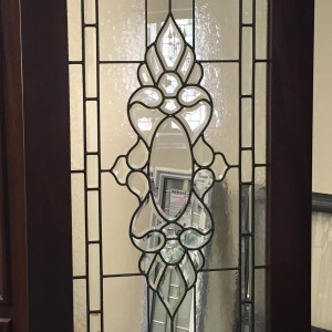 Beau Traditional Leaded Glass Door